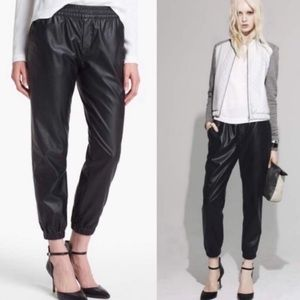 Piper Project Faux Leather Joggers